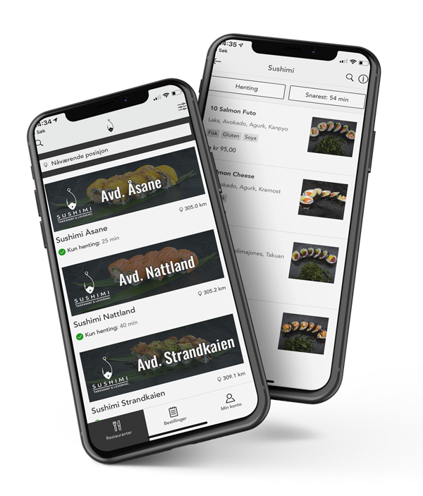 Wok and Go App med Takeaway System